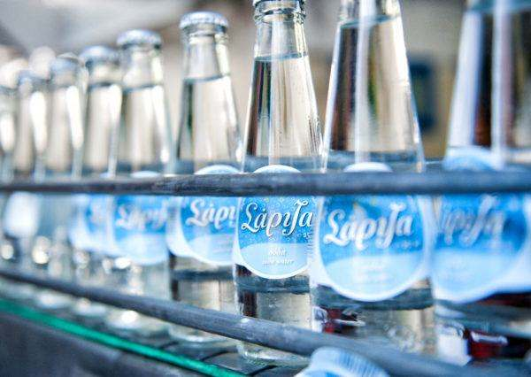 Bottling Procedure in Sariza water factory - Andros Island