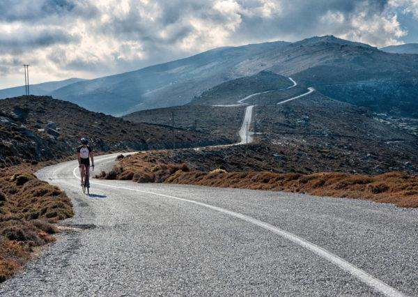 Cycling Andros Island