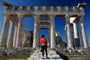 Temple of Aphaia - Aegina Island