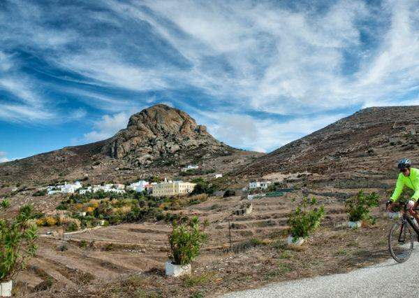 Rock of Exomvourgo - Tinos Island