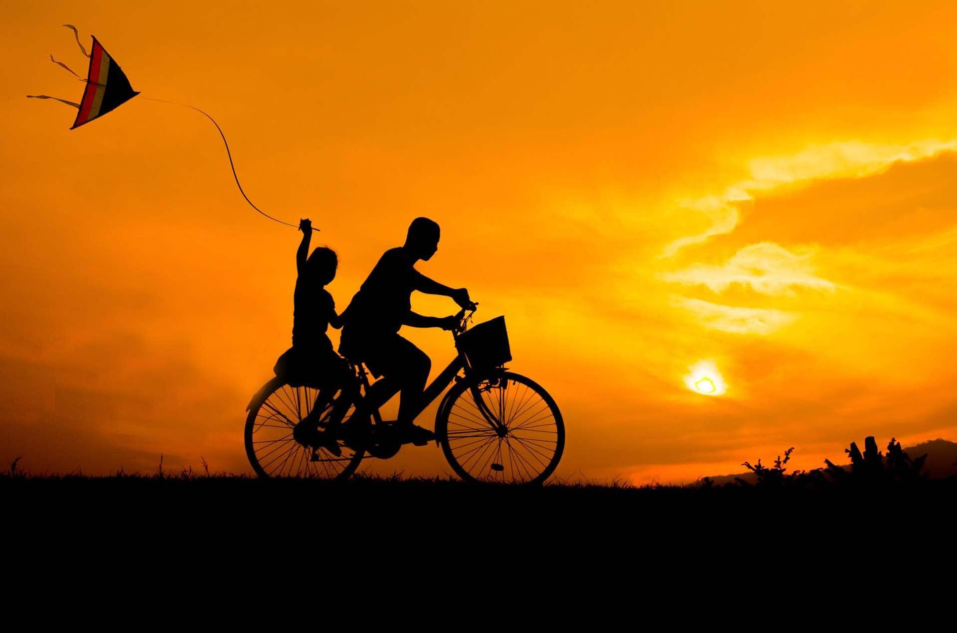 cycling a sense of freedom