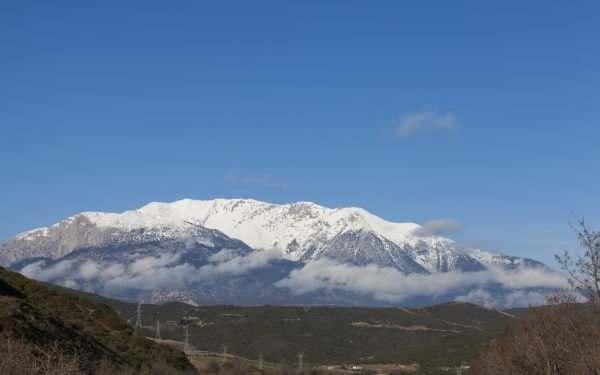 Delphi and Mt Parnassus