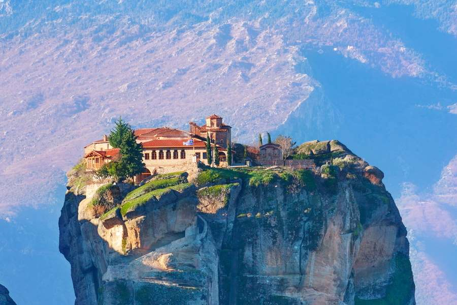 Cycling in Meteora - Gr Cycling