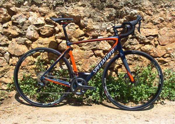 Bike Rentals in Athens - Full Carbon Ultegra Disc Road Bike Bicycle - Specialized Roubaix Expert 2017