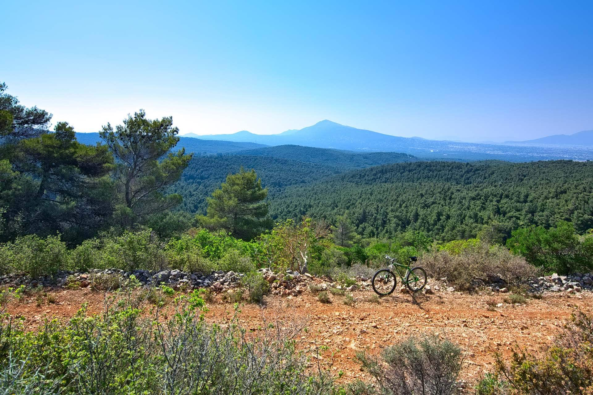 Mountain Biking (MTB) in Athens - Best MTB Trails Parnitha Mountain - Gr Cycling