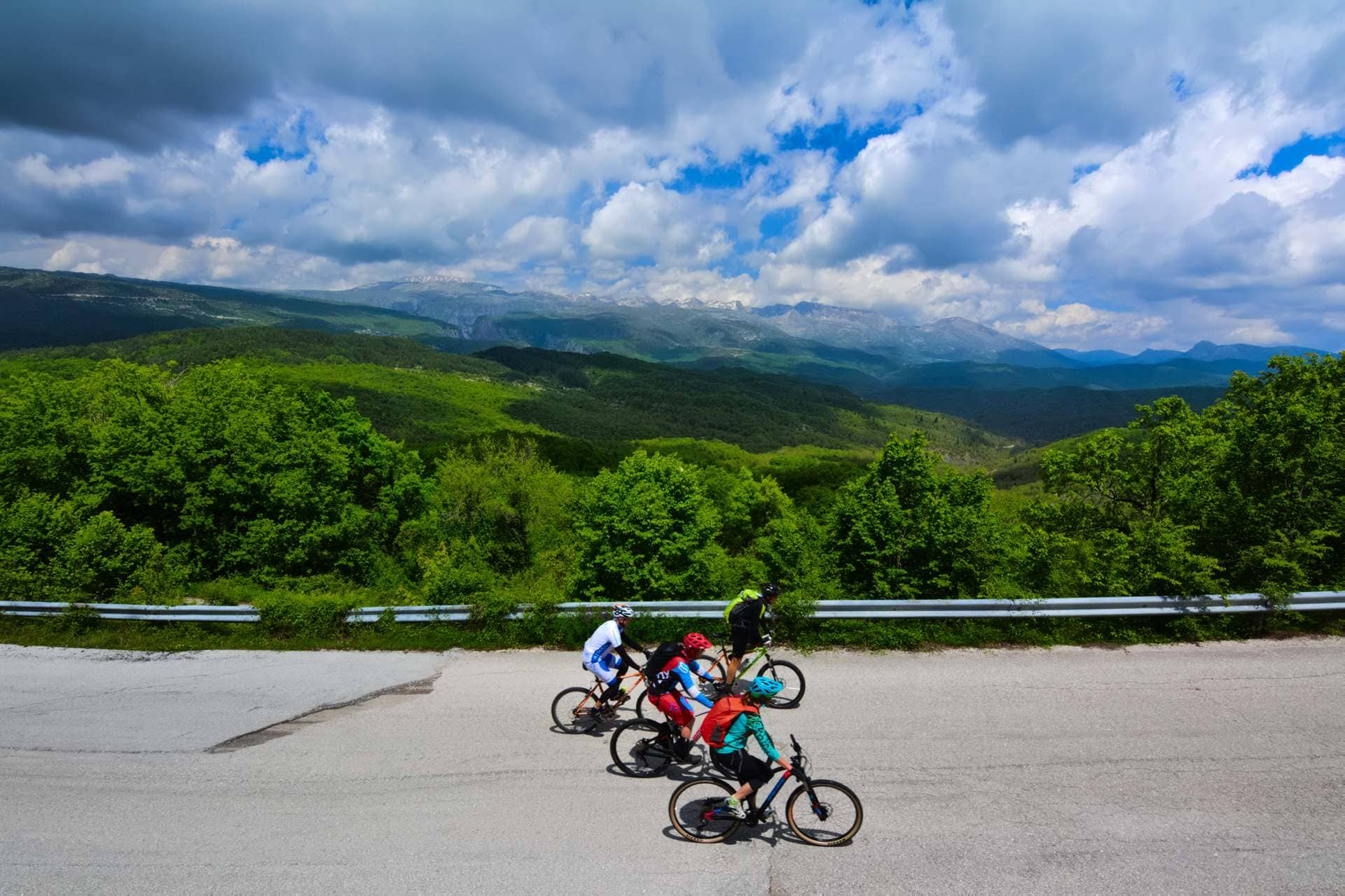 Cycling in Epirus, Zagoria GrCycling