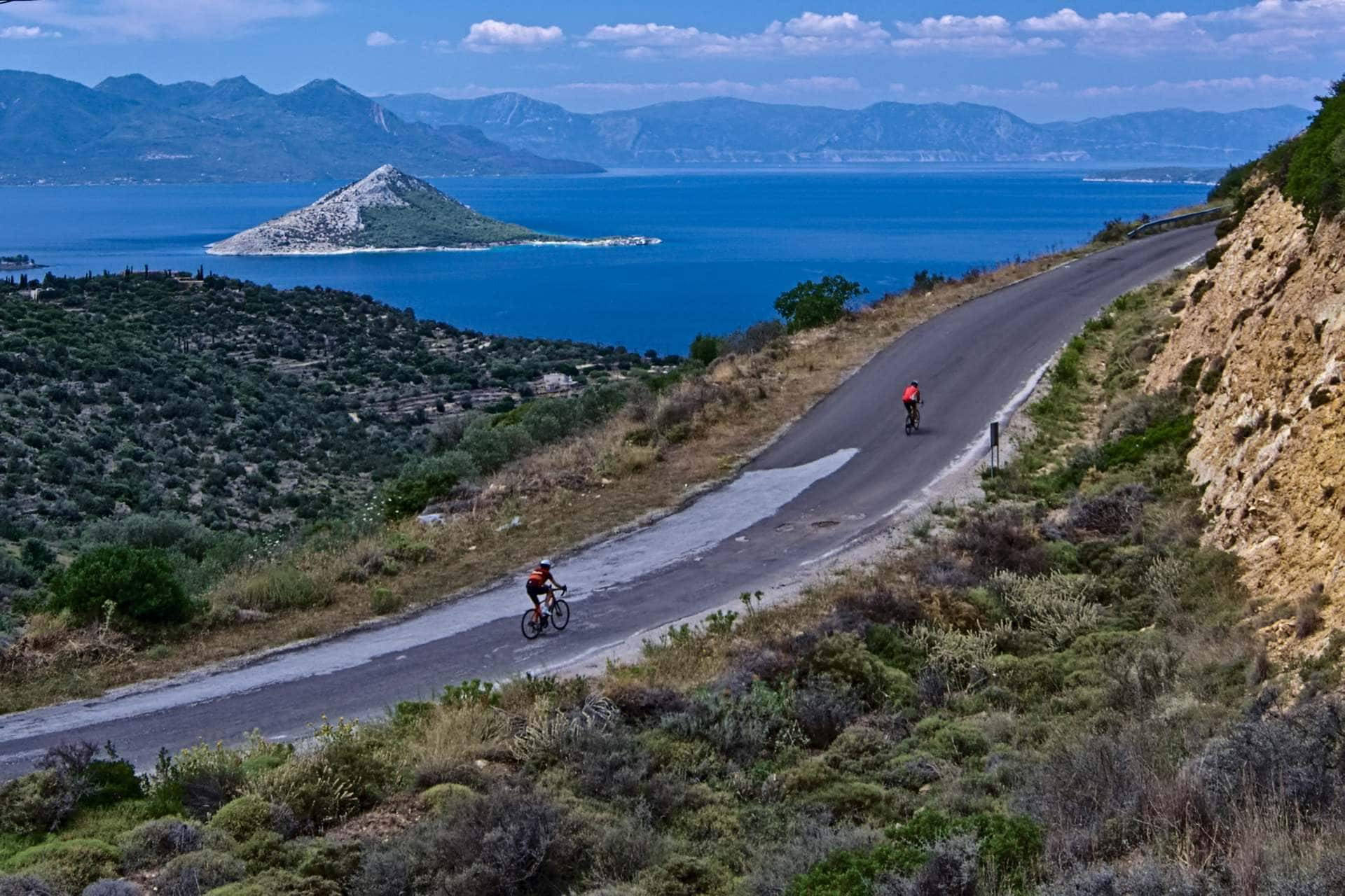 Cycling in Aegina (Athens) - GrCycling