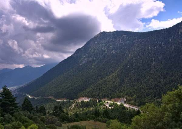 Cycling in Peloponnese (Mountain Range near Corinth) - GrCycling